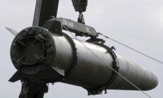 Medijs: Krievija uz Kaļiņingradas apgabalu ved raķešu kompleksu 'Iskander'