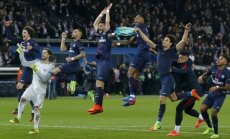 'Saint-Germain' futbolisti Čempionu līgas mačā iznīcina 'Barcelona' vienību