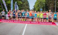 Ventspils maratonā uzvara Kristapam Bērziņam un Baibai Ažuselei