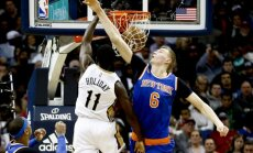 'Knicks' vajadzētu pasaudzēt Porziņģi, raksta 'New York Post'
