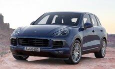 'Porsche' Ziemeļamerikā aptur 'Cayenne' dīzeļa modeļu tirdzniecību