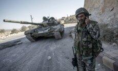 Sīrijas konflikts: Krievija iesniegusi ASV plānu par Sīrijas ķīmisko ieroču pārņemšanu