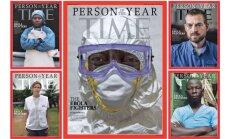 'Time' par gada cilvēku pasludina cīnītājus pret ebolu; pretendēja arī Putins