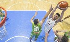 Latvijas U-20 basketbolisti Eiropas čempionāta otrajā mačā uzveic Slovēniju