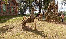 Jēkabpils novadā veidos siena skulptūras par Raiņa dzejas tēmām
