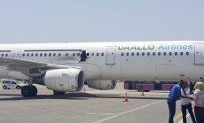 Lidmašīnas sprādzienu Somālijā, iespējams, izraisījusi bumba