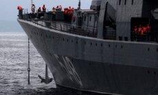 Sīrijas konflikts: Krievija uz Vidusjūru nosūta izlūkošanas kuģi, ziņo aģentūra