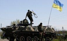 Ukrainas varasiestādes nolemj pilnībā nobloķēt Slovjansku