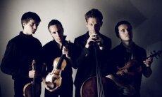 Frakās un basām kājām. Intervija ar atraktīvajiem francūžiem 'Quatuor Ebène'