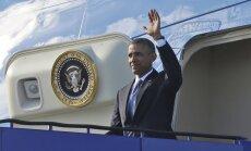 Ar vizīti Zviedrijā Obama sāk trīs dienu ilgu ceļojumu