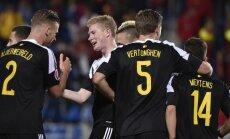 Beļģijas futbola izlase pirms EURO 2016 pazaudē jau ceturto aizsargu