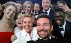 Foto: Tā izskatās populārākais selfijs pasaulē