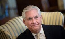 Tilersons: ASV vēstniecības pārelšana uz Jeruzalemi varētu nenotikt vēl divus gadus