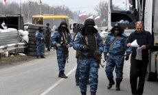 Slēgta gaisa telpa virs Krimas,tiek ziņots par 2000 Krievijas karavīru intervenci (teksta tiešraides arhīvs)