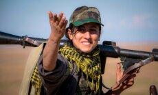 Британка в рядах курдских ополченцев воюет с джихадистами