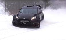 Rallijā 'Sarma' igaunis Gross ar 'Ford Fiesta WRC' svinēs atgriešanos autosportā