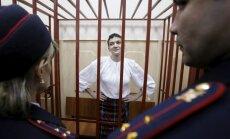 Video: Savčenko saka pēdējo vārdu Krievijas tiesā