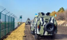 Foto: Kā top Krievijas un Ukrainas robeža