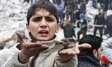 ANO: Sīrijas pilsoņkarā nogalināto skaits pārsniedz 100 000