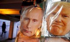 Kremlis un Baltais nams gatavojot Trampa un Putina tikšanos