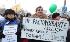 Krievijas izmeklētāji veikuši kratīšanu opozīcijas aktīvistu dzīvesvietās