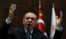 Erdogans: Stambulā septembrī notiks Turcijas, Krievijas, Francijas un Vācijas samits