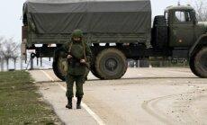 Krievijas parlaments pieļauj karaspēka ievešanu Krimā