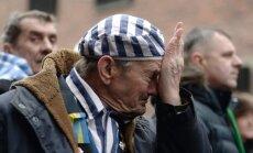 Video: 70 gadus pēc Aušvicas atbrīvošanas piemin miljoniem holokausta upuru
