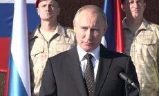 Путин прилетел в Сирию и приказал приступить к выводу войск