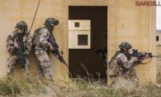 Foto: Kā Latvijas un ASV karavīri savas prasmes Spānijā trenēja