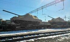 Krievijas lepnums – tanks 'Armata' – divas reizes salūzis parādes mēģinājumu laikā