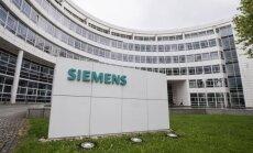 'Siemens' likvidēs 11 600 darba vietas
