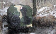 Donbasā ievainoti 16 Ukrainas karavīri