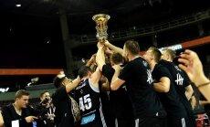 'VEF Rīga' piekto reizi triumfē Latvijas čempionātā