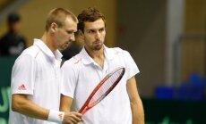 Теннисисты Латвии вырвали победу в Монако