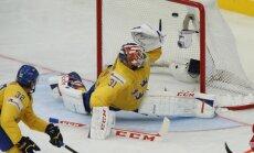 Latvijas pretiniece Zviedrija paziņo sastāvu pasaules čempionātam