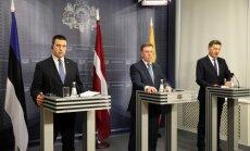 Премьеры стран Балтии призвали продлить антироссийские санкции