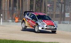 'Neste World RX of Latvia' pirmā diena: Baumanis sestais, Nitišs 10., Solbergs diskvalificēts