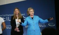 Bils un Hilarija Klintoni kļūs par vecvecākiem