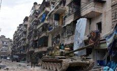 Turcija un Krievija vienojušās par pamiera plānu Sīrijā