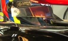 Video: Maldonado lido, Hamiltonam nelabi, 'McLaren' salūst - F-1 testi Barselonā