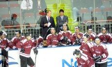 Latvijas hokeja valstsvienība aizvadīs pirmo pārbaudes spēli pret Krieviju