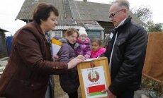 Vēlēšanas Baltkrievijā atzīstamas par notikušām