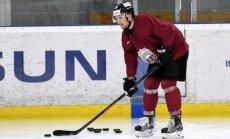 Latvijas izlasē spēlei pret Krieviju tiks pieteikti Andersons un A. Širokovs