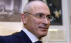 Hodorkovskis solījis neiesaistīties politikā