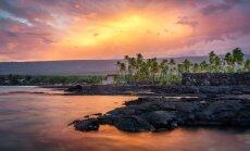 Valdzinošās Havaju salas 19 gadus veca fotogrāfa acīm