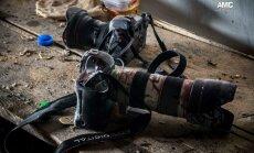 Ukraina Krievijas fotokorespondentu apsūdz separātistu zvērību atbalstīšanā