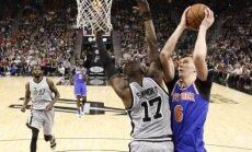 Latviešu spēlētāju derbiji NBA notiks decembrī un janvārī