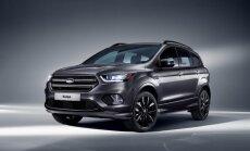 Modernizētais 'Ford Kuga' ieguvis trīscilindru dīzeļdzinēju