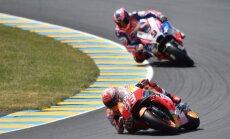 Markess Lemānā izcīna savu trešo 'MotoGP' uzvaru pēc kārtas